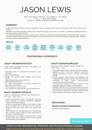 Get hired with the professional resume builder that will make you level up your resume with these professional resume examples. Quality Assurance Specialist Resume Samples Templates Pdf Doc 2021 Quality Assurance Specialist Resumes Bot
