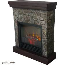 full image for electric fireplace stone mantel canada look faux heater free standing stand reviews