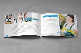 Cleaning Brochure Cleaning Service Company Brochure A5 Makiplace