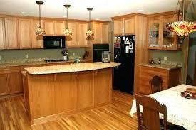 kitchen cabinets oak honey with granite cute colors refinish oakville kitchen cabinets