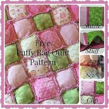 How to Make a Rag Puff Quilt Pattern by HoneybearLane ~ Learn how ... & Free Puffy Rag Quilt Pattern Finished Size: 32