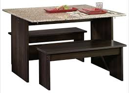 indoor dining table with bench seats. this is a small dining table with two benches. it\u0027s like an indoor picnic bench seats e