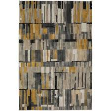 bacchus mustard rug 5x8