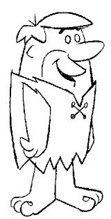 Barney Rubble Personaggio De I Flintstones Disegno Per Bambini