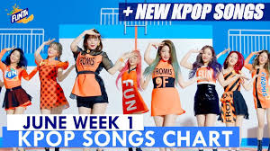 Kpop Chart 2019 Top 60 Kpop Songs Chart June Week 1 2019 Kpop Chart Kpc