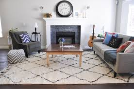 Living Room Area Rug Placement Living Room Rug Placement Living Room Sectional With Better