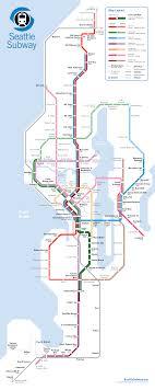 Link Light Rail Expansion Seattle Subway Launches St4 Light Rail Expansion Campaign