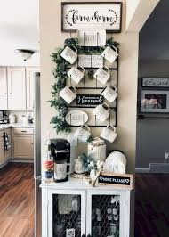 Rae dunn mudroom sign with coathooks. Coffee Corner Ideas For The Home In A Farmhouse Style Decorating Ideas And Accessories For The Home Creative Ideas For Every Room