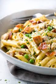 boneless chicken recipes with pasta. Fine With One Pan Chicken Carbonara Penne Pasta A Comforting Classic Italian Pasta  Recipe Tender Penne Throughout Boneless Recipes With Pasta I