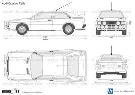 Rally Templates Templates Cars Audi Audi Quattro Rally