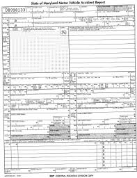 Form For Accident Incident Report Maryland Accident Incident Report Form Fill Out And Sign Printable