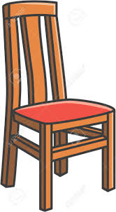 dining chair clipart. Beautiful Chair Dining Room Chair Vector Cartoon Illustration Royalty Free Cliparts For Clipart L