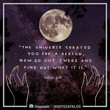 Nikita Gill Quote The Universe Created You For A Reason N