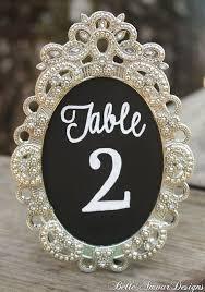 specimen frame wedding table number diy lovely 58 best table numbers images on