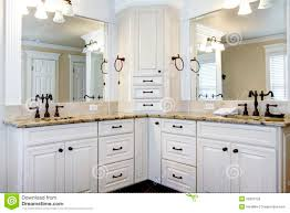 master bathroom cabinets ideas. Delighful Master Luxury Large White Master Bathroom Cabinets With Double Corner Pertaining  To White Bathroom Cabinet Ideas Intended Intended Ideas S