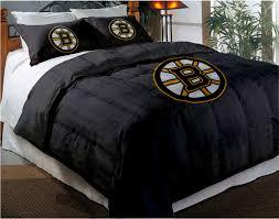 3pc boston bruins twin single comforter set hockey