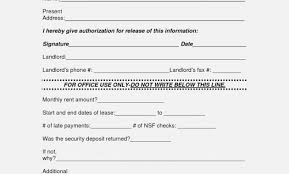 Reference Verification Form 15 Rental Verification Forms For Landlord Or Tenant Template