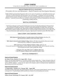 Gallery Of Dental Resume Template