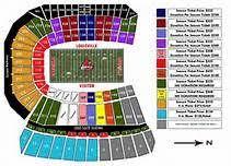 Faurot Field Seating Chart Rows Detailed Seating Chart Papa Johns Cardinal Stadium