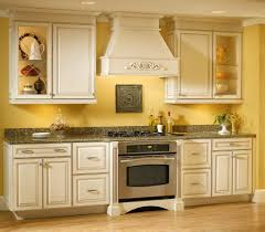 Yellow Kitchen White Cabinets Yellow And White Kitchen Cabinets