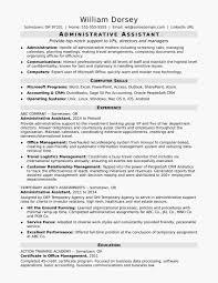 Administrative Resume Examples Elegant Unchain Resume Profile