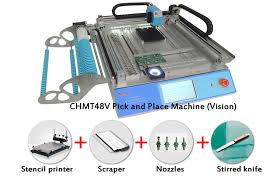 vision system cmt 48v smt pick and place machine kit with stencil printer nozzles for smt pick and place machine manufacturer from china 104461894