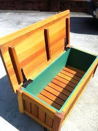 how to build a bench with storage dazzling outdoor storage bench ideas diy outdoor storage bench