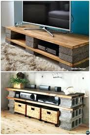 diy furniture refinishing projects. Pinterest Furniture Diy Cinder Block Stand Console Concrete Projects Refinishing R