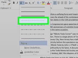 If you've already drawn the line, just click on it for further editing. How To Do A Dotted Underline In Word 4 Steps With Pictures