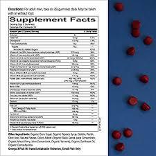 SmartyPants <b>Men's</b> Formula Daily Gummy <b>Multivitamin</b>