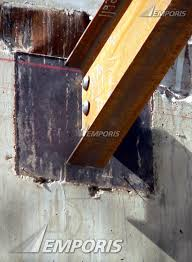 Steel Beam Connection To The Concrete Core Joffrey Tower