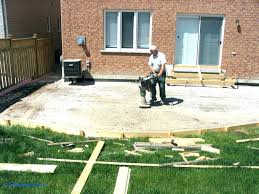 average cost of concrete patio large size of of concrete estimate in average for hot