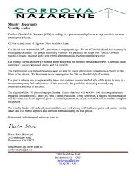 Worship Pastor Resume Free Resume Example And Writing Download