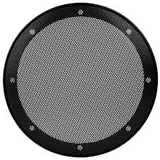 6 1 2 car type steel mesh 2 piece speaker grill with plastic mounting ring