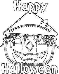 Small Picture From the Crayola website free printable Halloween coloring