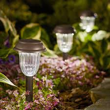 Solar  Landscape Lighting  Outdoor Lighting  The Home DepotSolar Landscape Lighting Stakes
