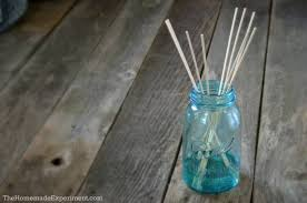 finished homemade reed diffuser