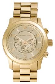 men watches michael kors large gold runway watch watches trends men watches michael kors large gold runway watch