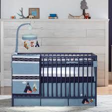 triboro just born 3 pc crib bedding set adventure
