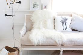 kmart wellington faux fur rug in grey while it doesn t have quite the appeal of the real deal this faux fur number is a great inexpensive piece ideal for