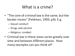 psyb forensic psychology forensic psychology defining  the core of criminal law is the same but the