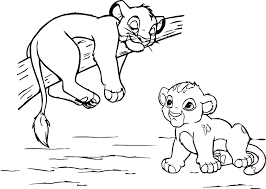 Small Picture Disneys Lion King Coloring Pages Sheet Free Disney Printable