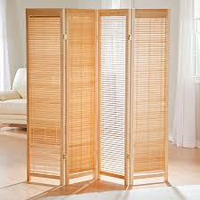 Folding Screen Amazoncom Tranquility Wooden Shutter Room Divider Industrial
