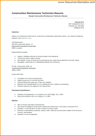 Maintenance Resume Sample Resum Sample Luxury Building Maintenance Resume Examples Of Resumes 21