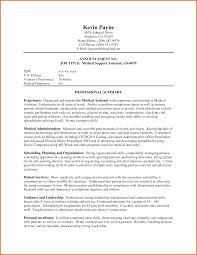 Assistant Medical Assistant Resume Cover Letter