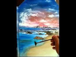 oil painting on plexiglass