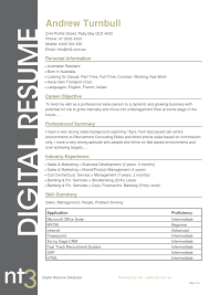 resume example australia