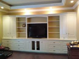 exciting custom wall units for family room built