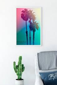 beach photography palm tree wall art