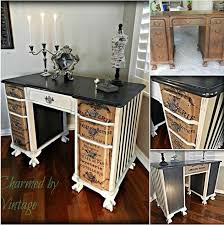 ... Themoatgroupcriterion Wonderful Vintage Desk Ideas with Best 20  Refinished Desk Ideas On Pinterest Desk Redo ...